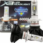 ΛΑΜΠΑ LED H4 X3 6000LM